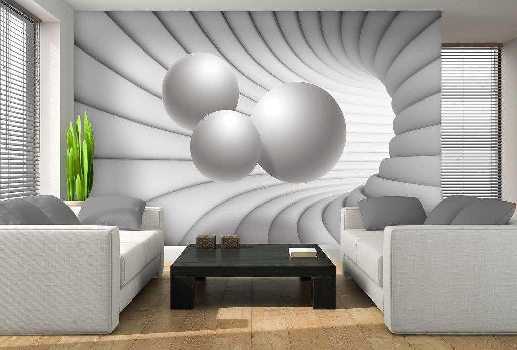 Фотообои 3D в современных интерьерах