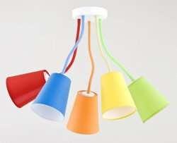 Детские люстры: рекомендации по правильному оформлению светом